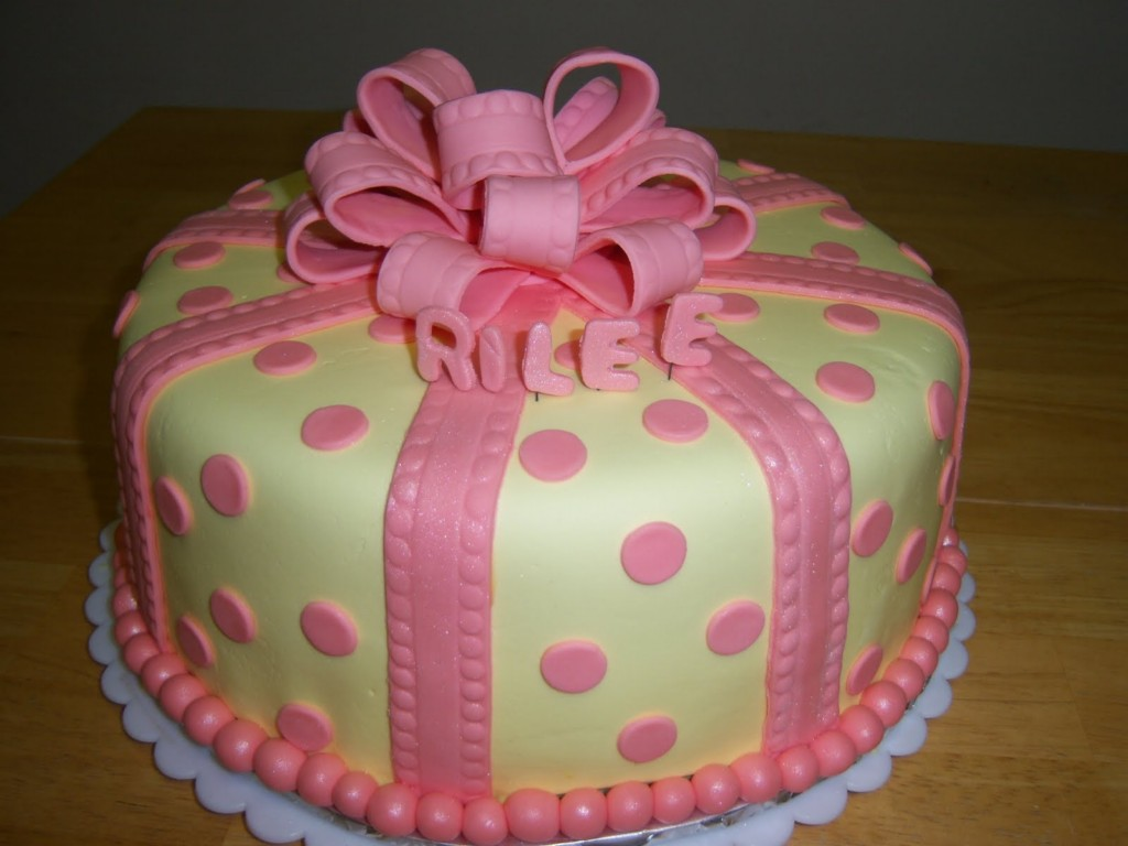 Image of: Baby Shower Cakes Pictures