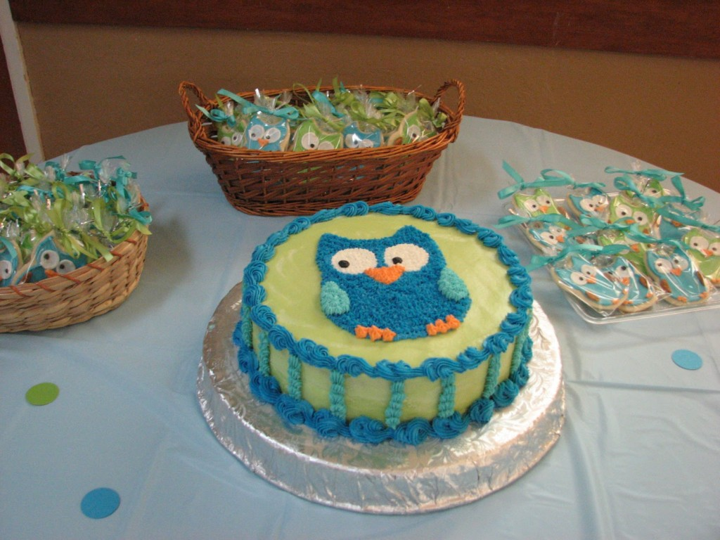 Image of: Babyshower Cakes For Boy