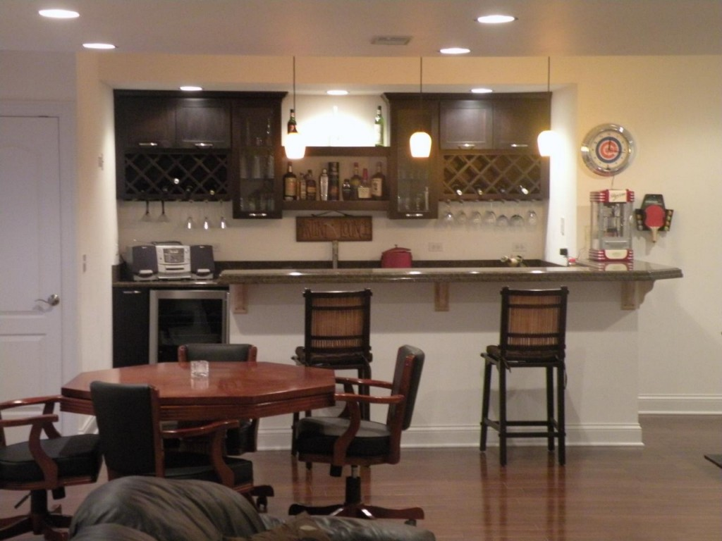 Image of: Basement Bars For The Home