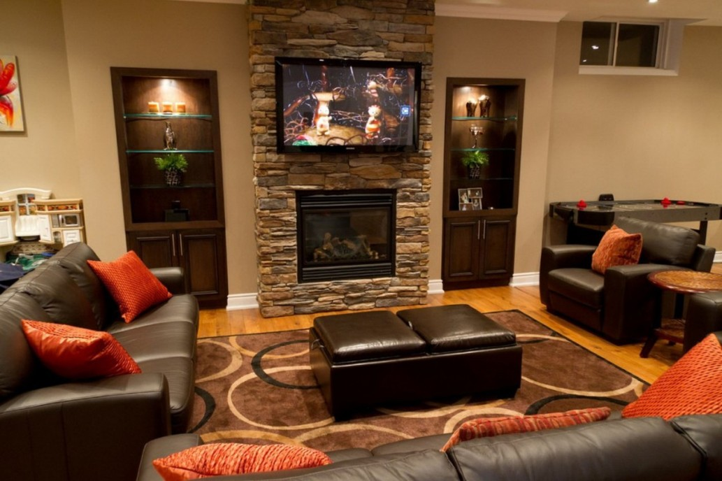 Image of: Basement Decorating Ideas