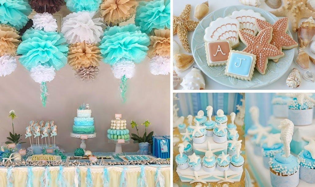 Image of: Beach Party Decorations