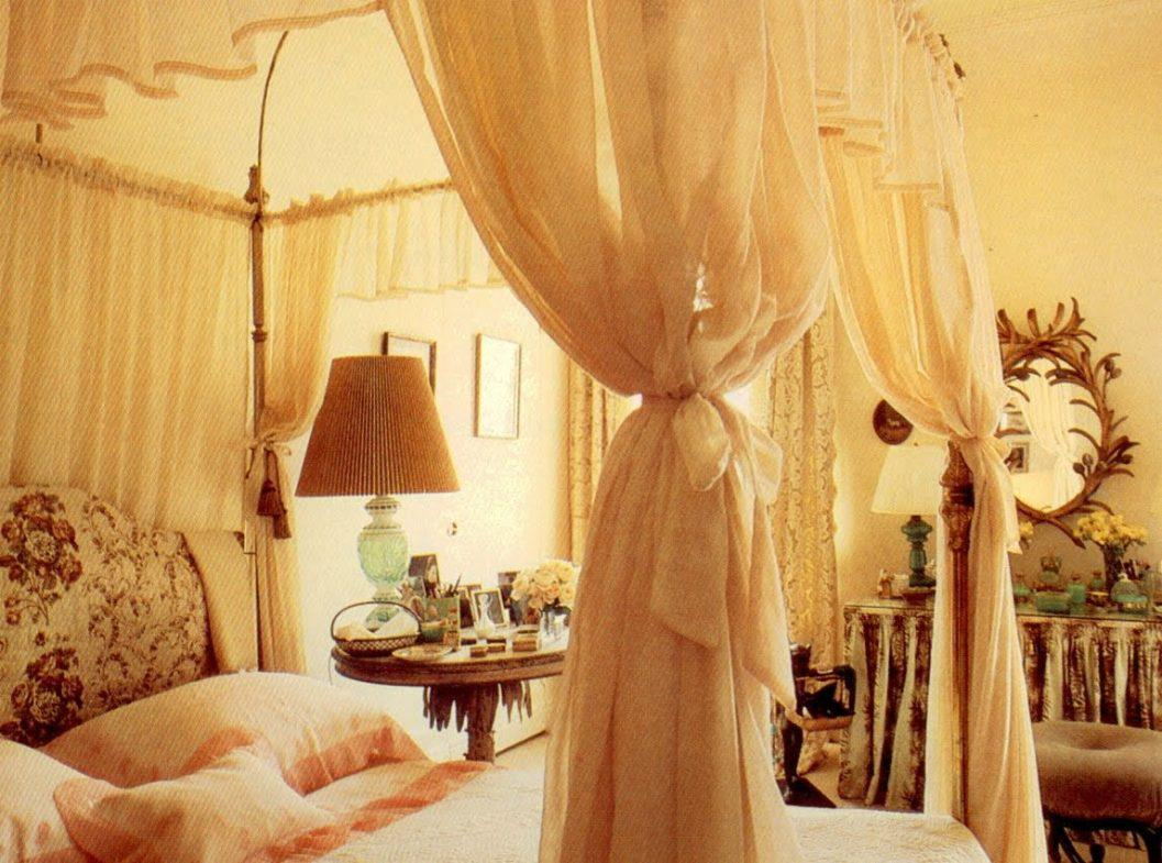 Image of: Bed Canopy Curtains