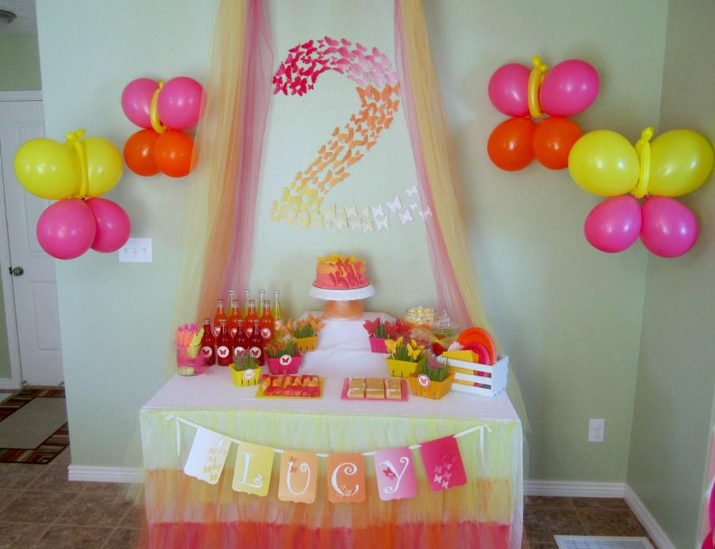 Image of: Birthday Party Decoration Ideas