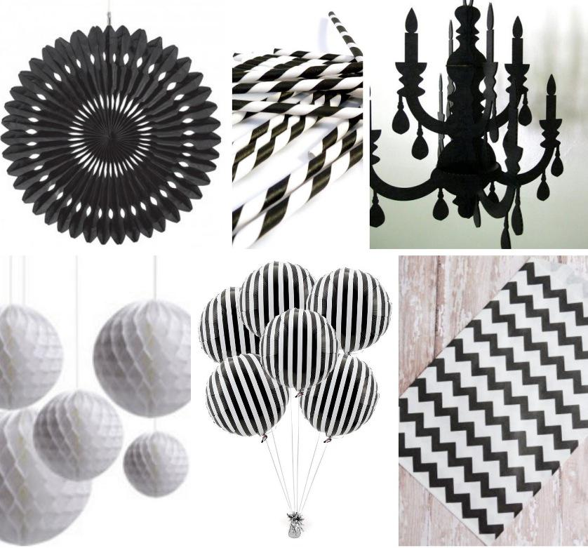 Black and White Party Decorations Party City
