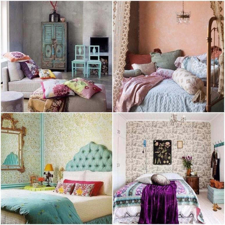 Image of: Bohemian Bedding