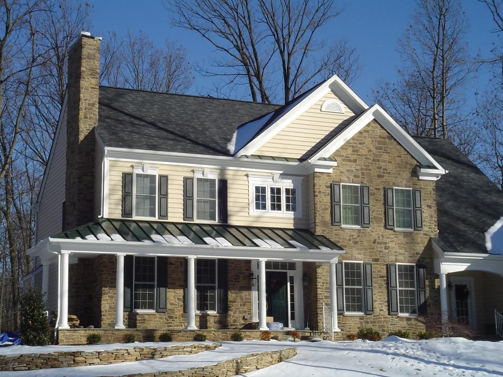 Brick And Stone Home Exteriors