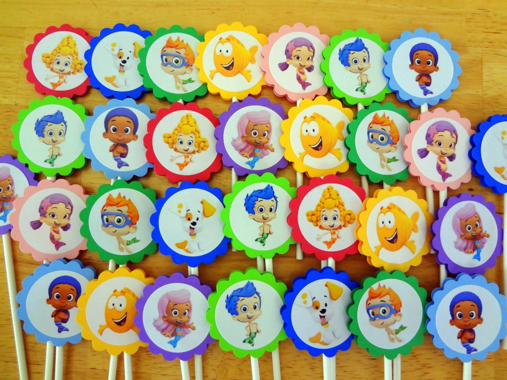 Image of: Bubble Guppies Birthday Decorations
