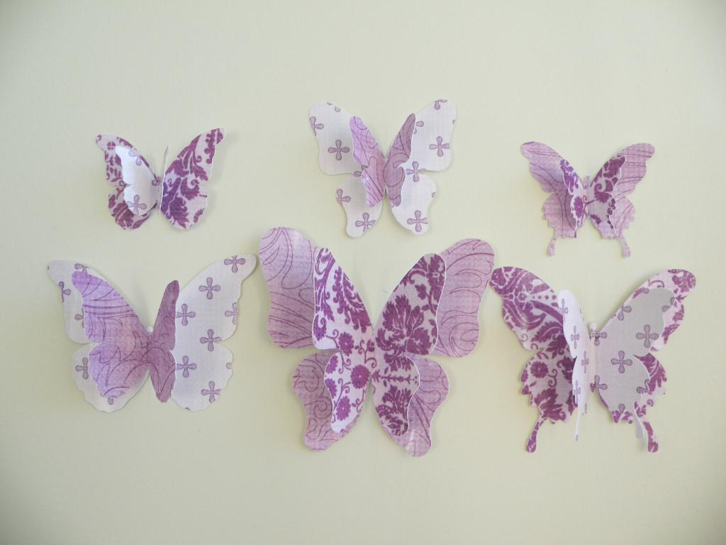 Image of: Butterflies Decorations