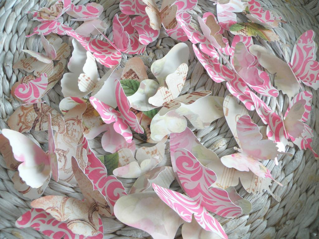 Image of: Butterflies Party Decorations