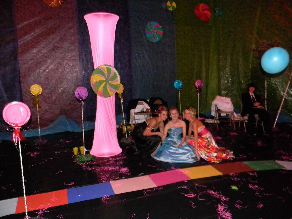 Image of: Candyland Party Decorations Ideas