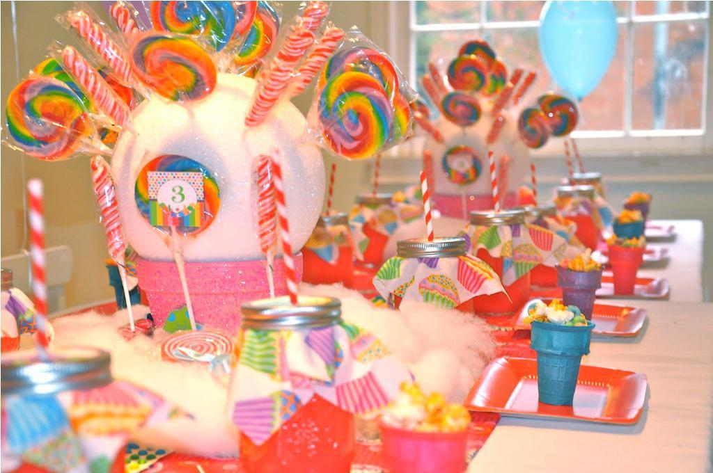 Image of: Candyland Themed Favors