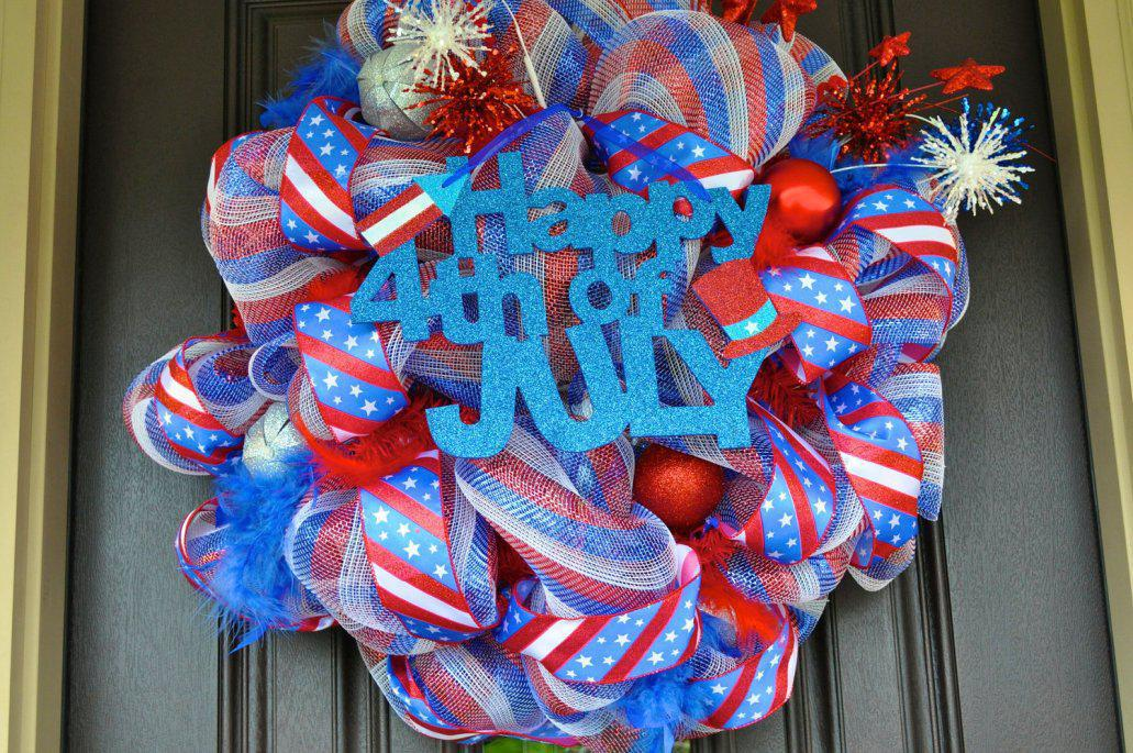 Image of: Charming 4th of July Decorations