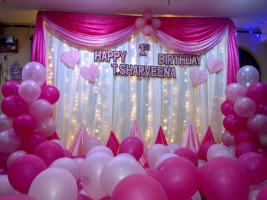 Image of: Charming Birthday Party Decorations