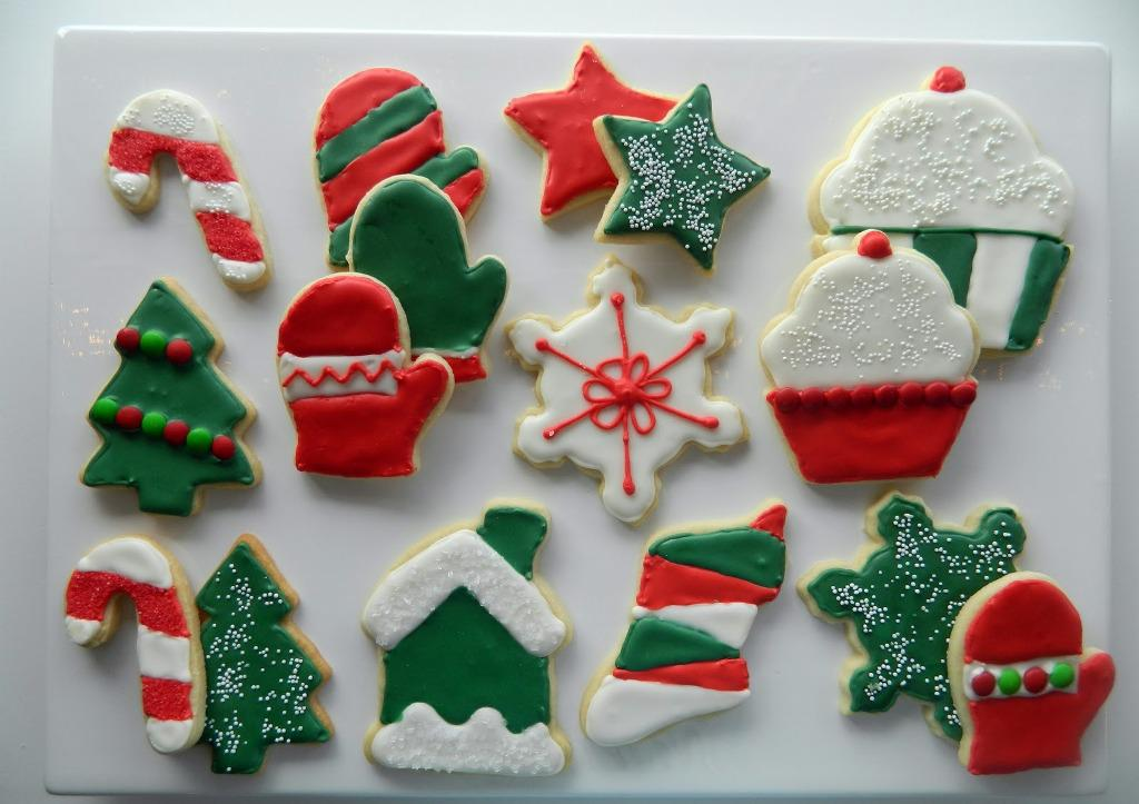 Image of: Christmas Cookie Decorating Ideas For Kids