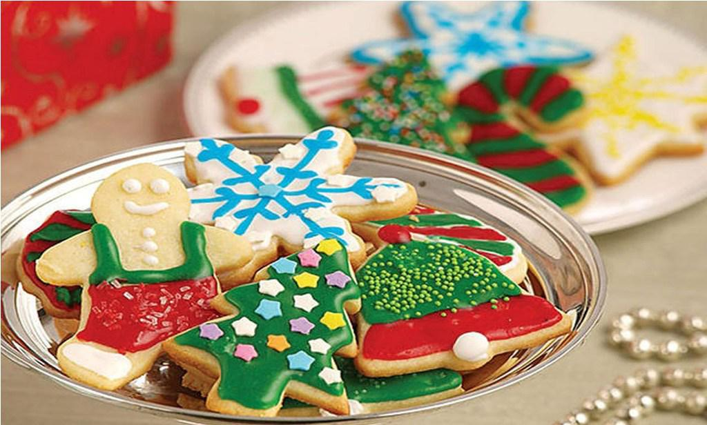Image of: Christmas Cookies Decorated