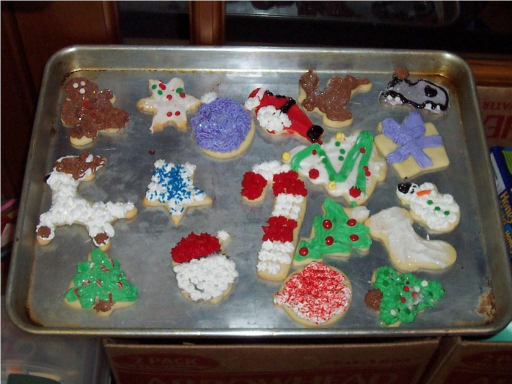 Image of: Christmas Cookies Decorating Ideas