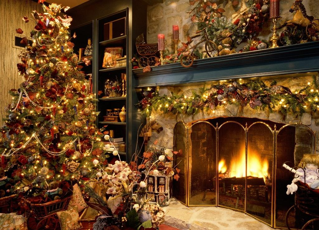 Image of: Christmas Decorating Ideas