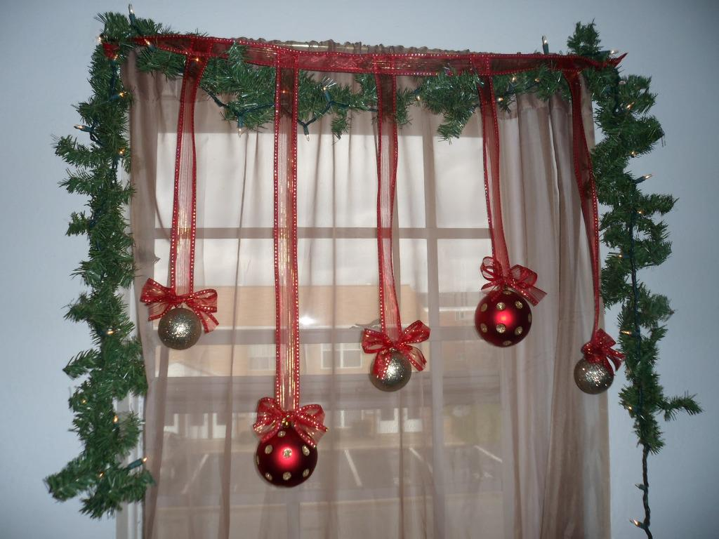 Image of: Christmas Window Light Decorations