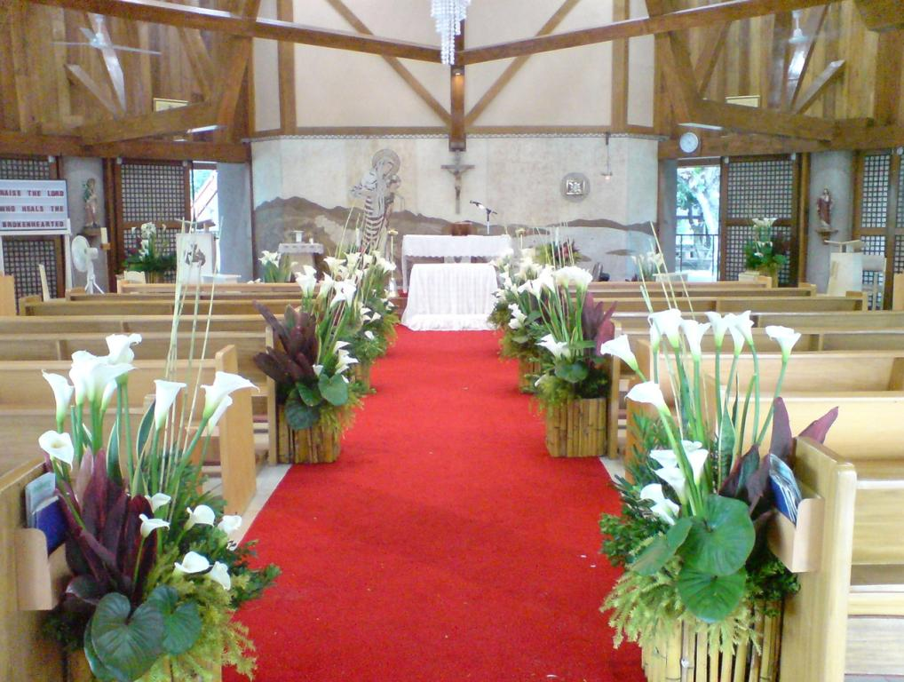 Church Wedding Decorations Images