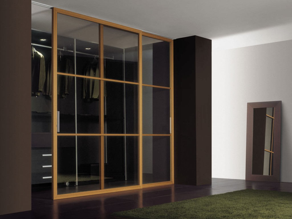 Image of: Closet Doors Glass