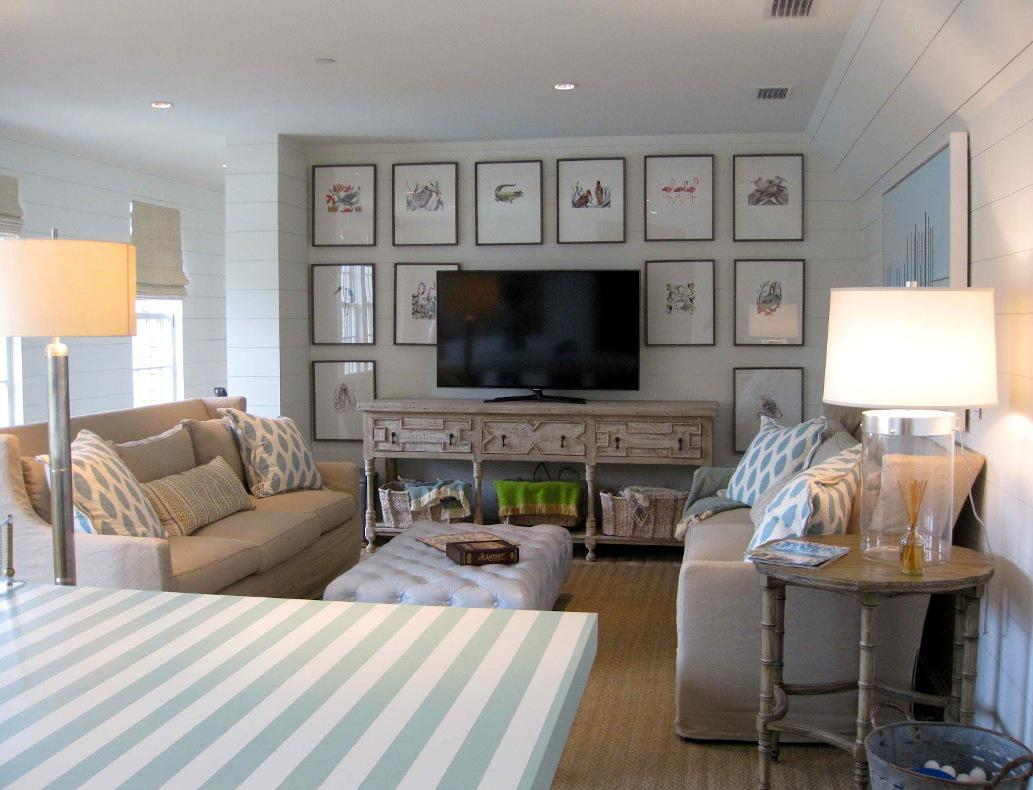 Image of: Coastal Living Rooms Ideas