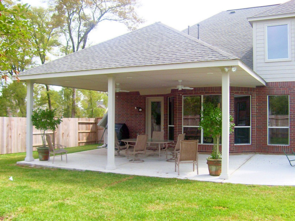 Image of: Covered Patio Diy
