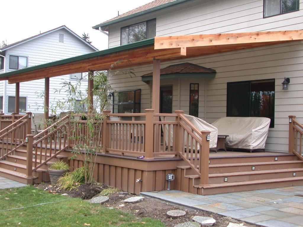 Image of: Covered Patio Pictures