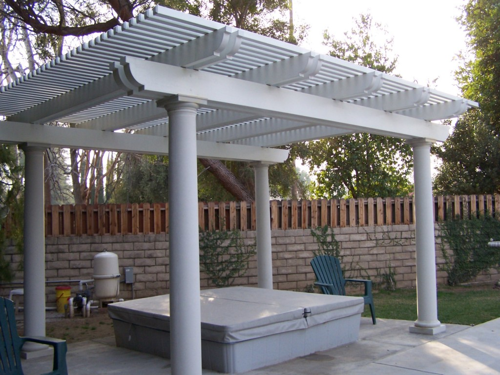 Image of: Covered Patio Plans Free