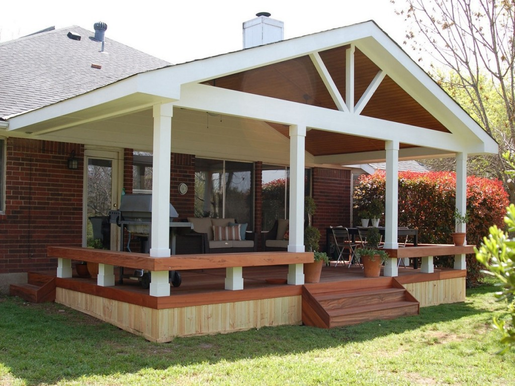 Image of: Covered Porches And Patios