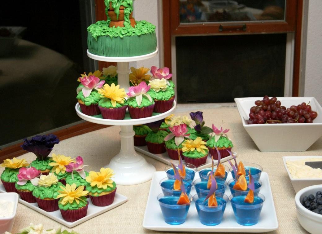 Image of: Cupcake Decor Ideas