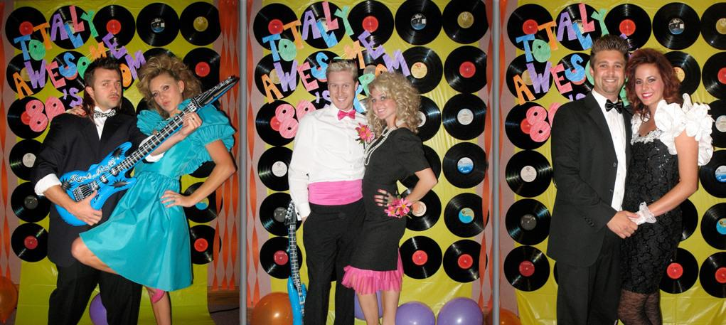 Image of: Cute 80s Party Decorations