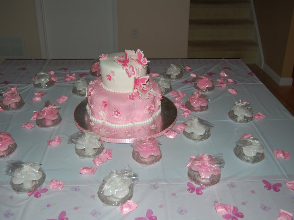 Image of: Cute Babyshower Cakes