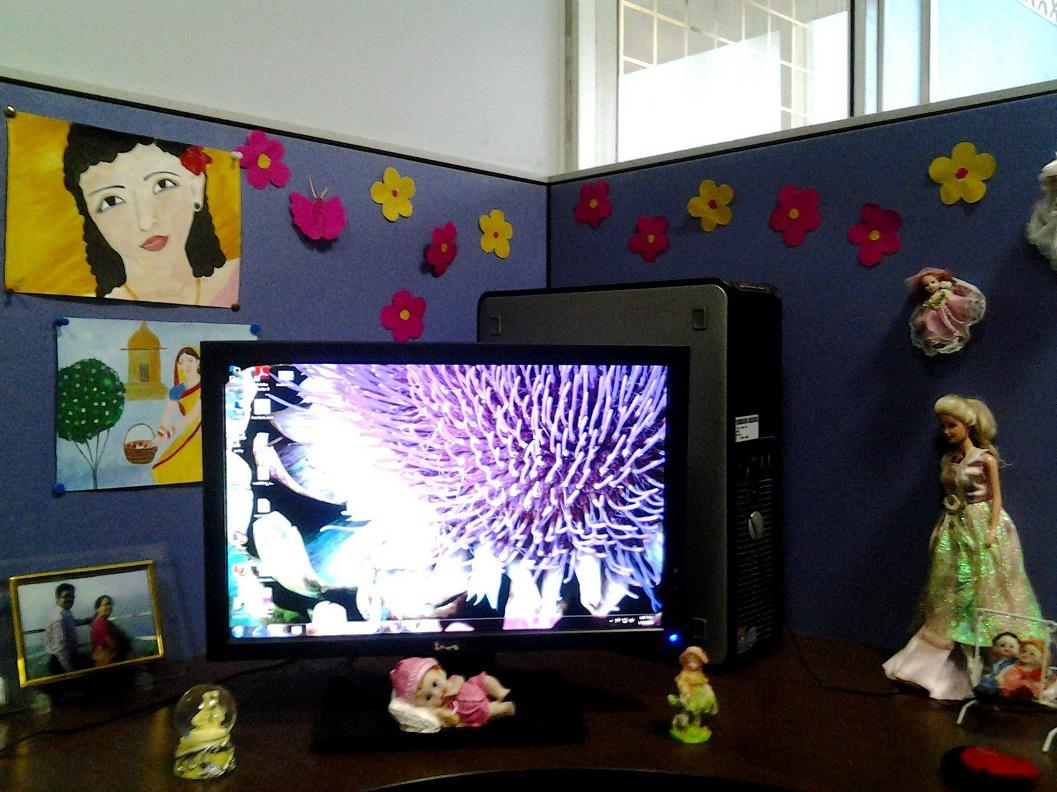 Image of: Cute Cubicle Decorating Ideas