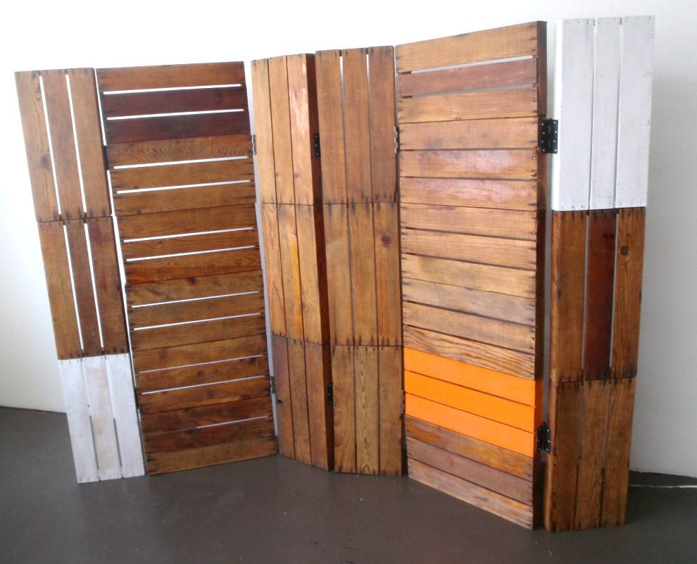 Image of: DIY Room Divider Frame