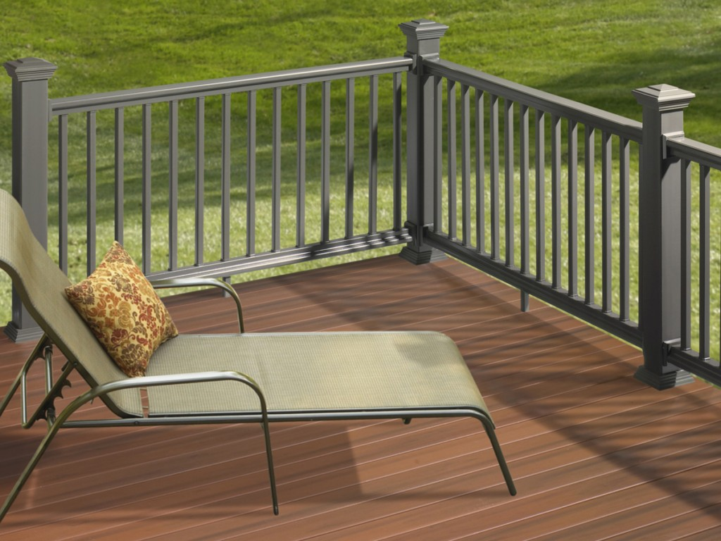 Image of: Deck Railing Design