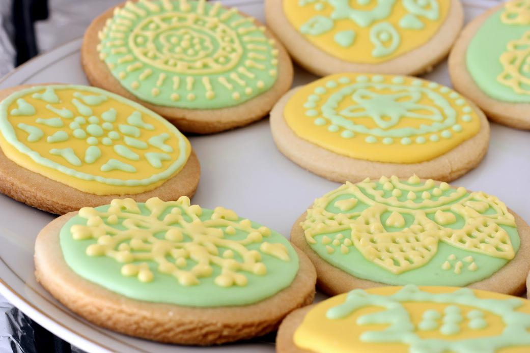 Image of: Decorated Sugar Cookies Recipe