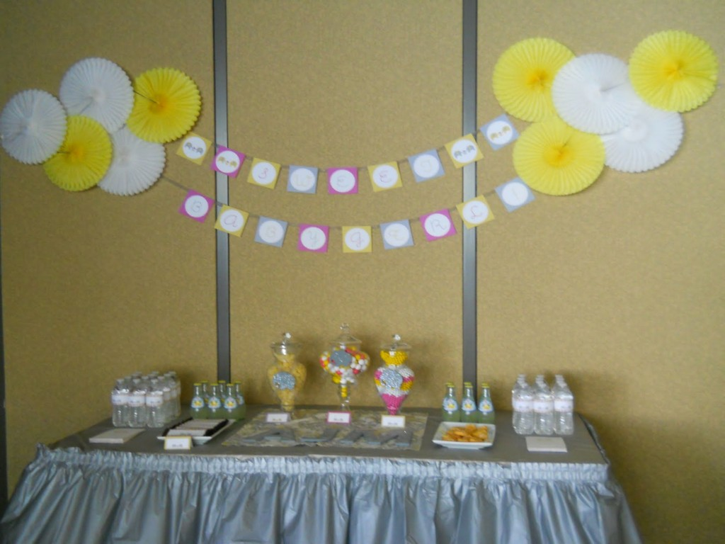 Image of: Decorations For Boy Baby Shower
