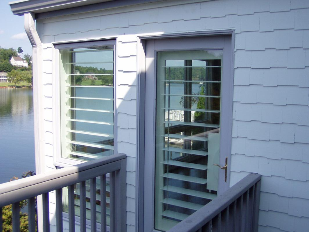 Image of: Decorative Exterior Shutters