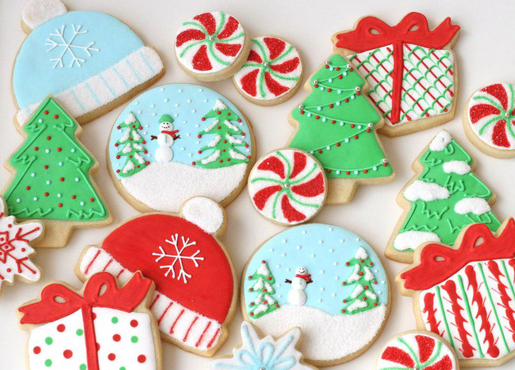 Image of: Decorative Sugar Cookies