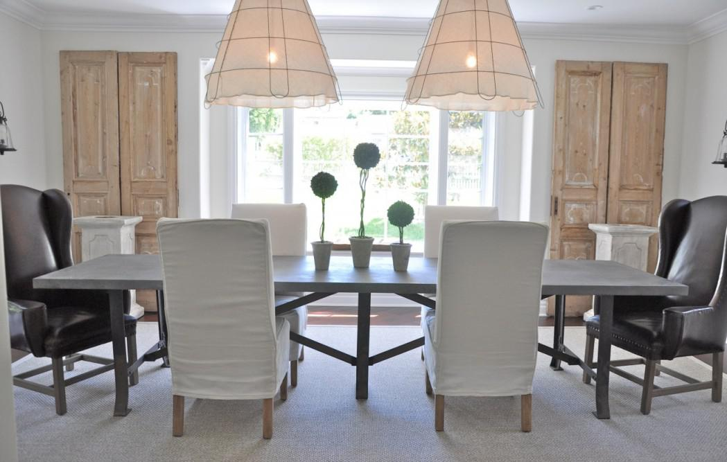 Image of: Designer Dining Room Furniture