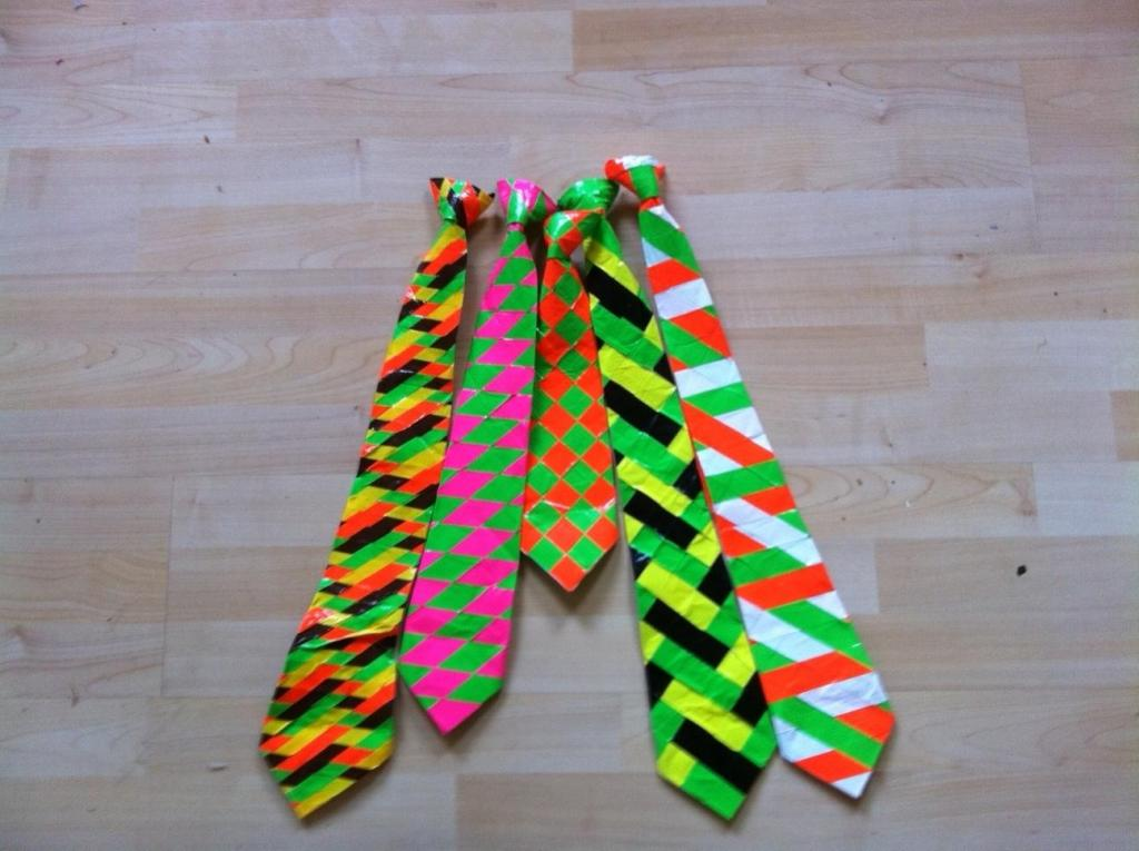 Image of: Duct Tape Crafts For Kids