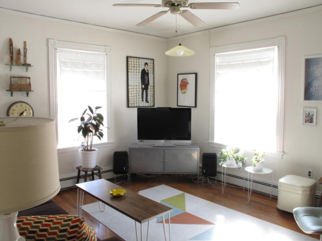 Image of: Eclectic Living Room Design