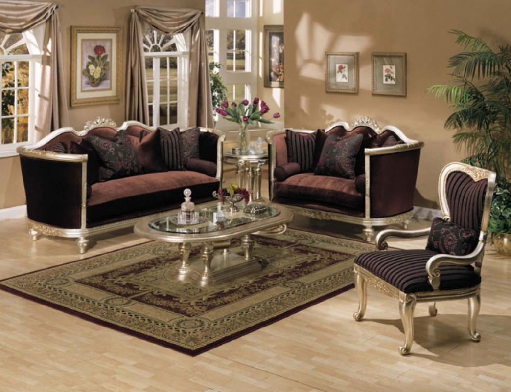 Image of: Elegant Formal Living Room Furniture