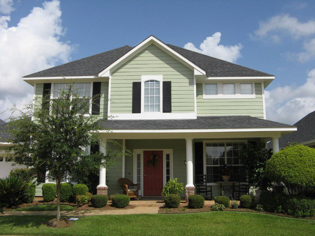 Image of: Exterior House Color Schemes Pictures