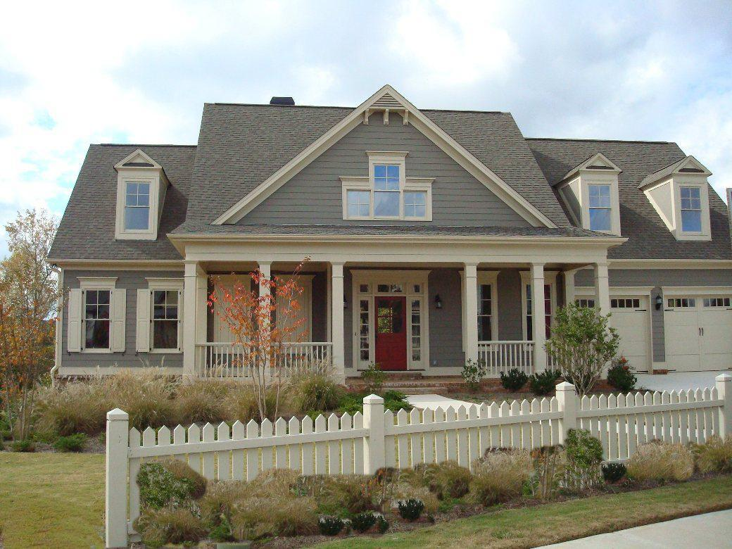 Image of: Exterior House Color Schemes