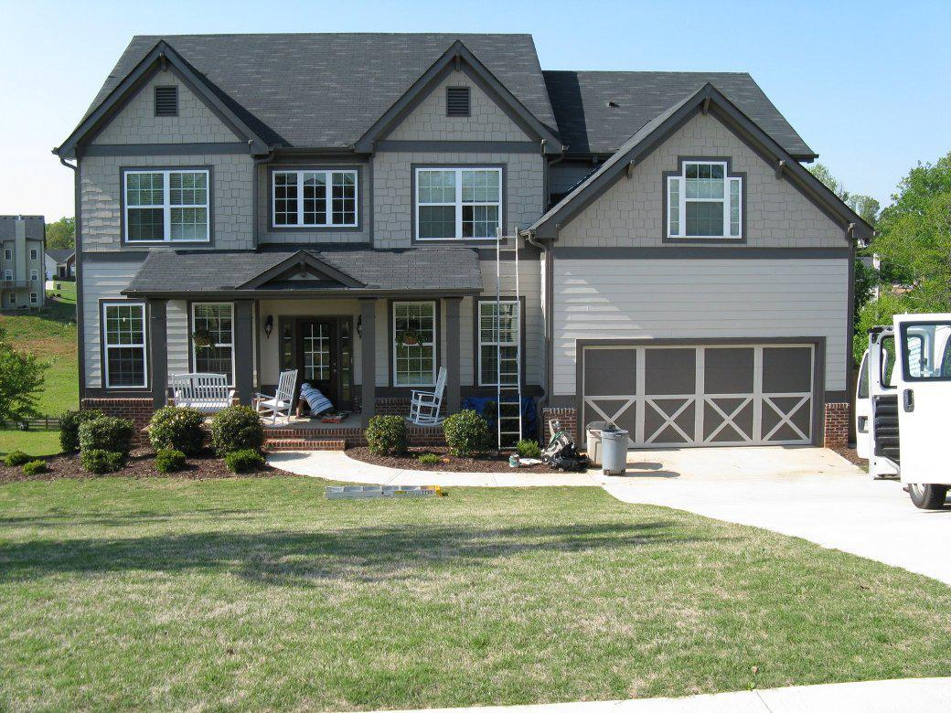 Image of: Exterior House Colors
