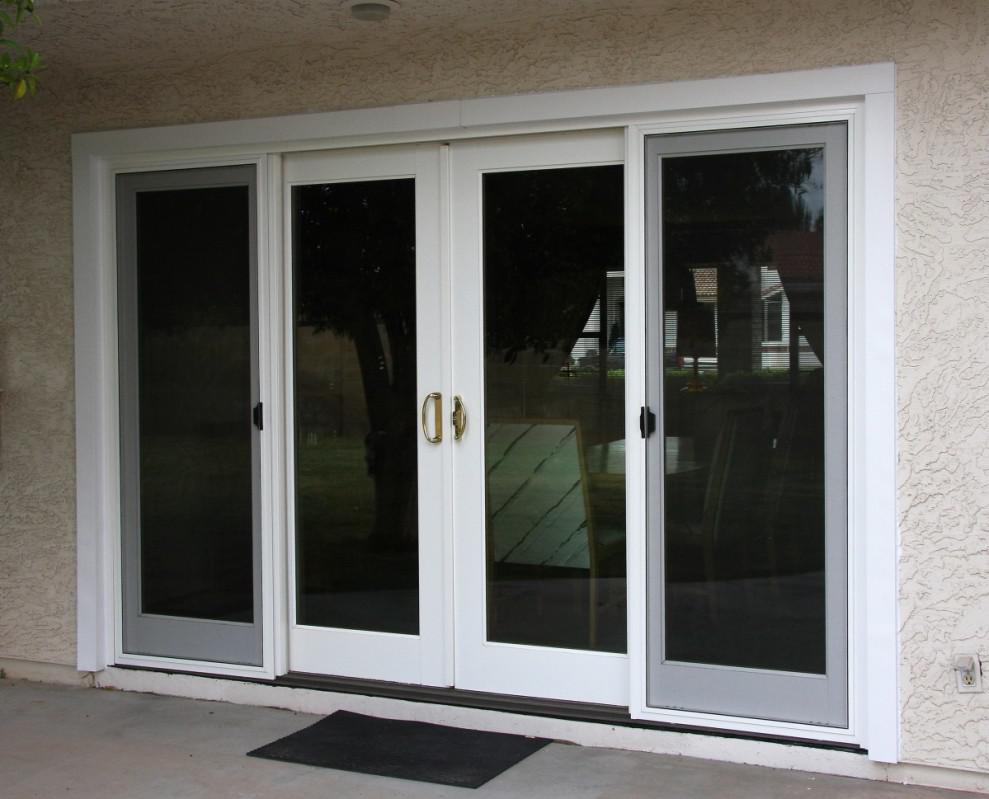 Image of: External Sliding Doors