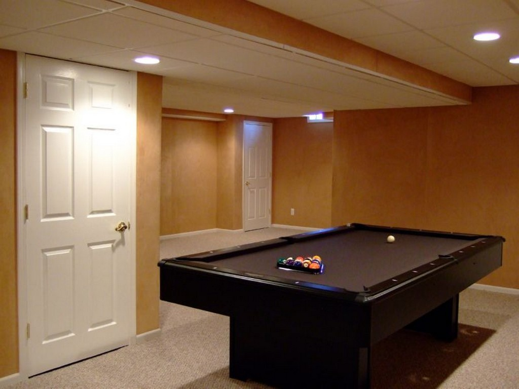Image of: Finished Basements Photos