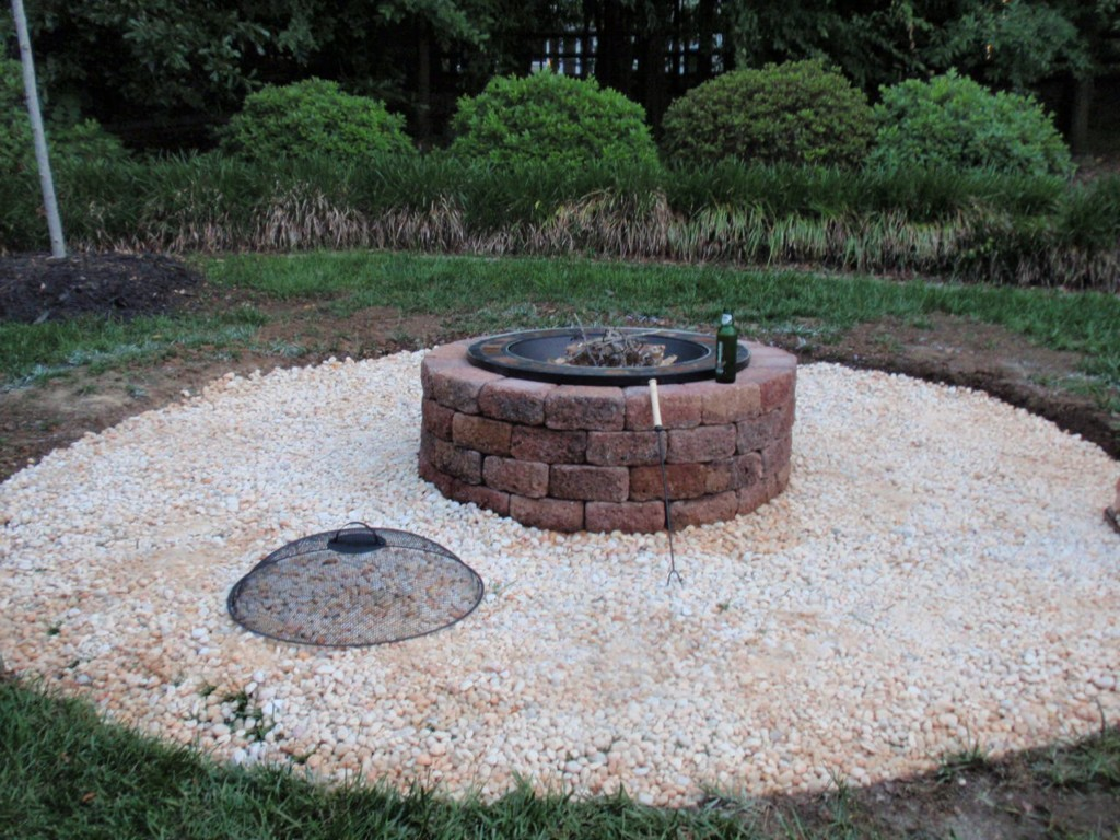 Image of: Fire Pit Ideas Diy