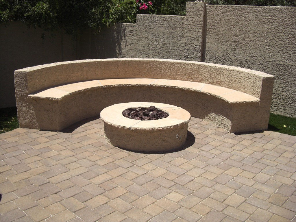 Image of: Fire Pit Ideas For Backyard